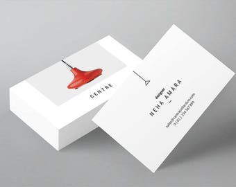 Lamp Shop Design Business Cards - Two sides!