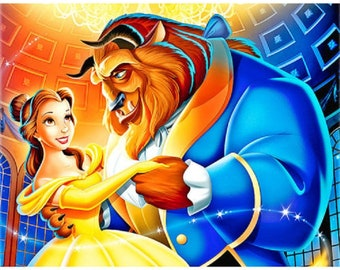 Beauty and the beast 5D DIY Diamond Picture