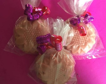 Strawberries & Cream palm Free Goats Milk Soaps