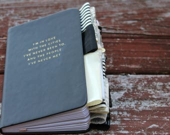 I'm In Love with Cities I have Never Been To Altered Journal