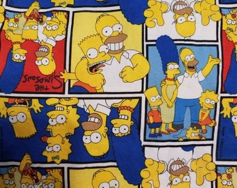 Custom  Simpsons Diaper you choose type and size Nb/Sm or Onesize