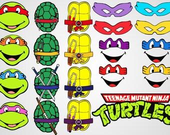Teenage Mutant Ninja Turtles - TMNT - SVG cut files - Cricut file - silhouette - shirt print - vector file - digital download