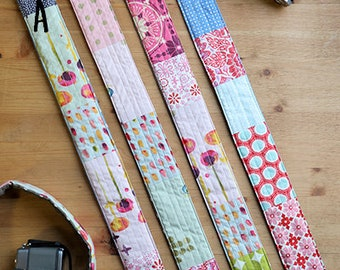 Quilted Camera Strap Cover (B)