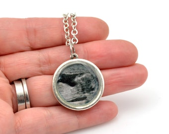 Custom Ultrasound Necklace   Sonogram Necklace   Custom Photo Necklace   Mothers Day Gift   New Mommy   Infant Loss Jewelry