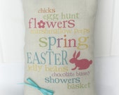 Easter Mini Pillow | Easter decor | Easter subway art | Easter gift | Basket Stuffer