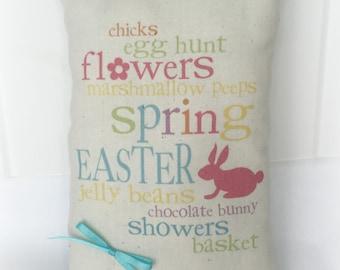 Easter Mini Pillow | Easter decor | Easter subway art | Easter gift | Basket Stuffer