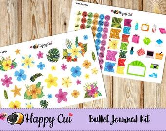 Wildflower // Bullet Journal Sticker Kit