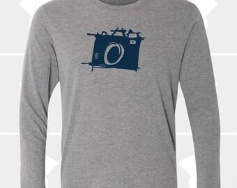 Sketch Camera - Unisex Long Sleeve Shirt