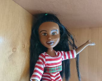 The Holiday Helper Doll, by Mirthitude, rescue repaint + makeunder