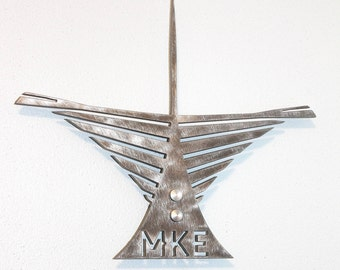 Milwaukee Art Museum Metal Wall Art