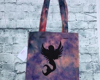 Mermaid Fairy tote bag, shoulder bag, grocery bag, shopping bag