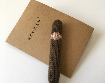 Knitted Montecristo Cigar