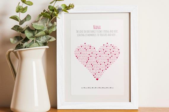 Family Poem Print