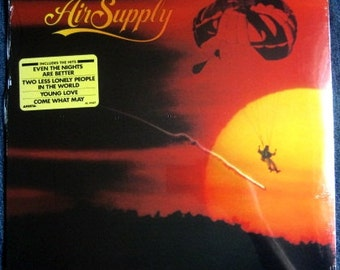 SEALED AIR SUPPLY Now And Forever Lp 1982 Vinyl Record Album Mint