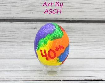 Birthday Confetti eggs, dozen Mexican Cascarones, party eggs, birthday favor, party favors, party decorations, party decor, tie dye