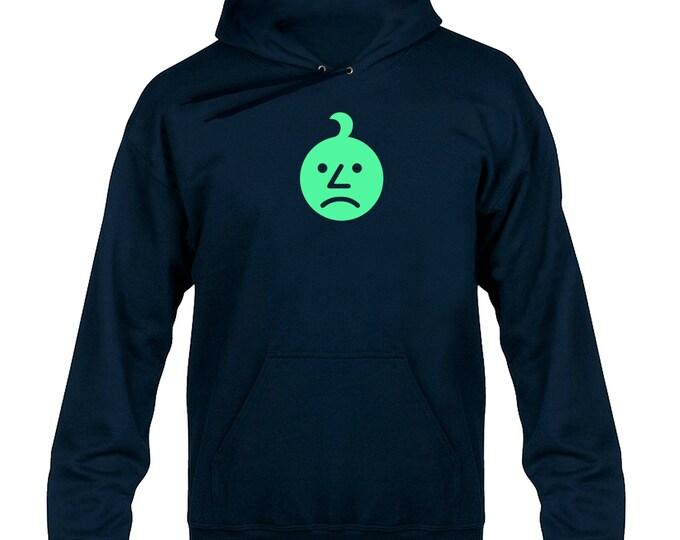 Sad Onion Glow in the Dark Hoody  Hoodie Hooded Sweater