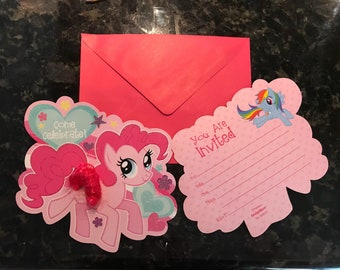 My Little Pony Invitations (set of 8)