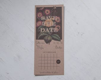 Modern Vintage Save the Date, Set of 10