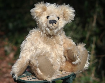 Marlowe traditional jointed teddy bear sewing pattern DOWNLOAD by Barbara-Ann Bears