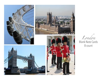 London Photo Note Cards Set of 8