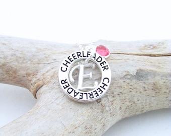 Cheer Necklace, Cheerleading Jewelry, Cheerleader Gifts, Cheerleader Necklace, Cheer Party Favors