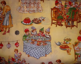 Sweet Stuff Robert Kaufman Birthday Party Cotton Quilting Fabric BTY by the yard