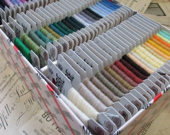 Sajou Laine St Pierre Embroidery & Darning Thread- Full Set of 96 Colours