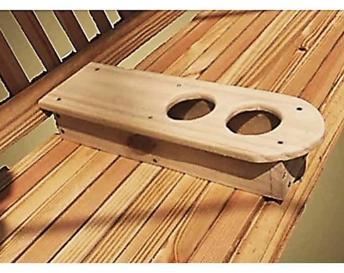Porch Swing Cup Holder