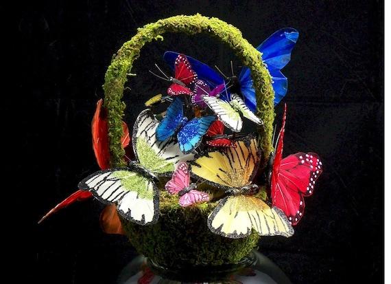 Basket Full of Butterflies