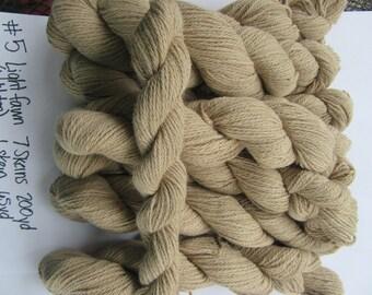 light fawn-beige alpaca yarn