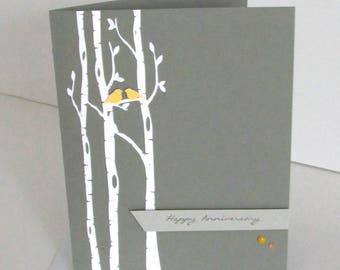 Anniversary Birds – Birch Tree