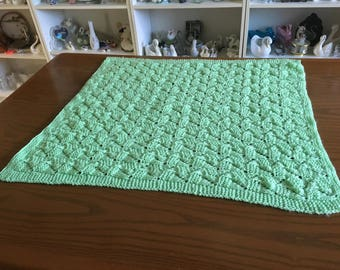 Handmade Baby Blanket - Tumbling Blocks