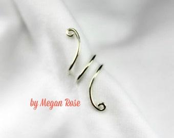 Simple Swirl Ear Cuff