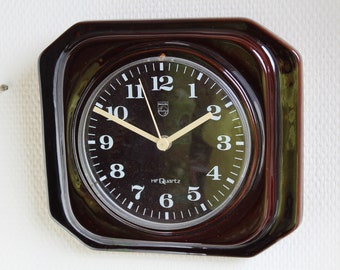 Vintage ceramic clock by Philips