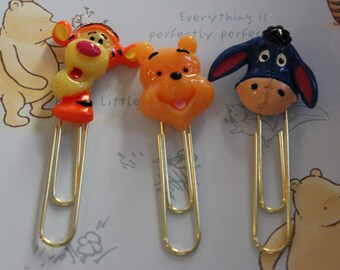 Winnie the Pooh Planner Paperclip, Filofax, Color Crush, Kikki-k, ECLP