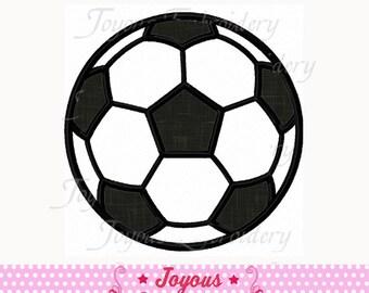 Instant Download Soccer Applique Embroidery Design NO:1560