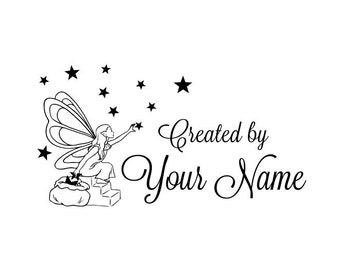 Handle Mounted Personalized custom made rubber stamps C68