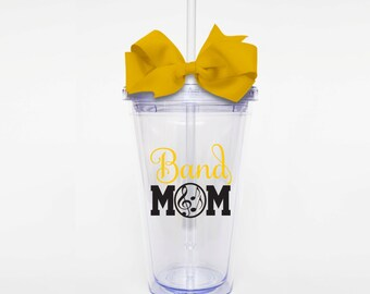 Band Mom - Acrylic Tumbler Personalized Cup