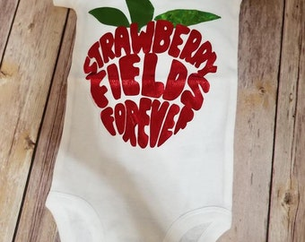 Strawberry Fields forever bodysuit