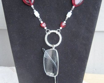 Red Heart Eyeglass Lanyard