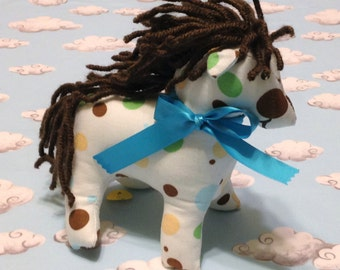 Plush Fabric Horse Toy, small