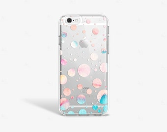 Bubble iPhone 7 Case Clear iPhone 8 Case Clear iPhone 7 Plus Case iPhone 6S Plus Case iPhone X Case Samsung Galaxy S8 Case Samsung S9 Case
