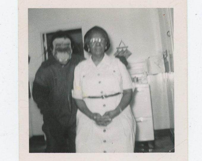 Vintage Snapshot Photo: Mask [83658]