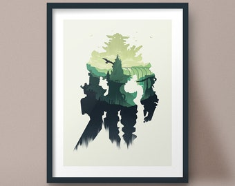 Shadow of the Colossus Art Print Game Poster