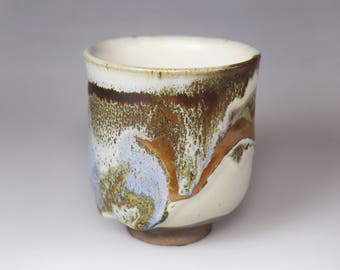 Glost-fired Earthen Teacup- Rich texture