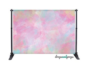 Watercolor Pastels - Photography Backdrop