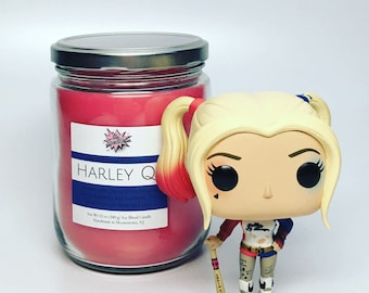 Harley Q 12oz Cosplay Candle