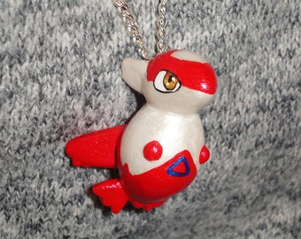 Pokemon - Latias Charm Necklace - Pokedoll Style Pendant