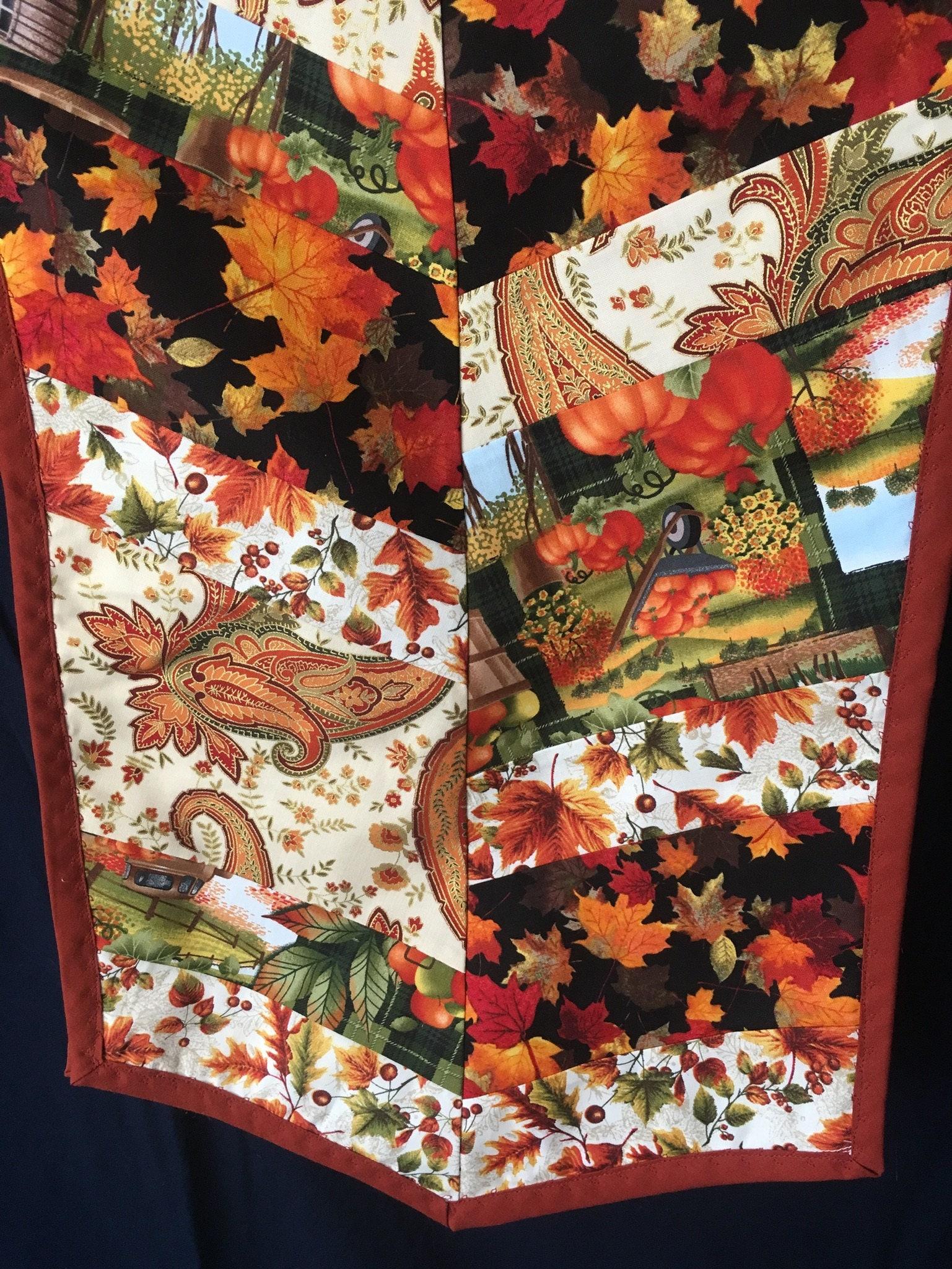 Fall Table Runner, Harvest Table Runner, Thanksgiving Table Runner, Autumn Table  Runner, Thanksgiving Tablecloth, Fall Tablecloth, Chevron