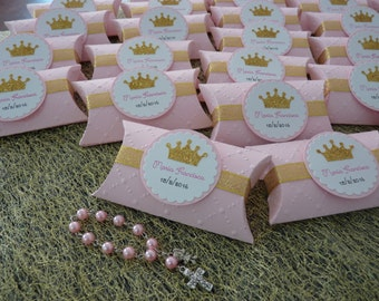 Rosary and pillow box - set of 10